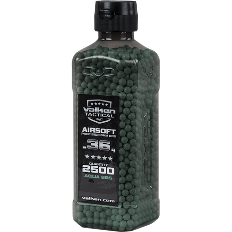 Valken Tactical 0.36g BBs 2500CT Bottle (GREEN)