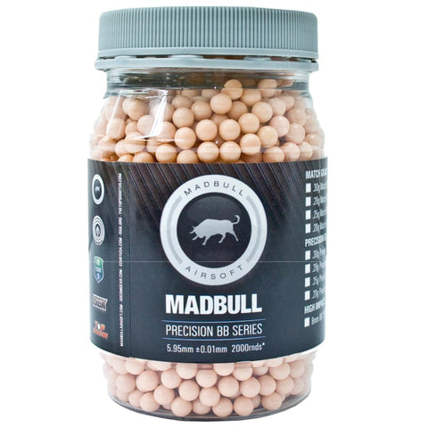Madbull 0.20g Dark Knight Tracer BBs 2000CT (Red)