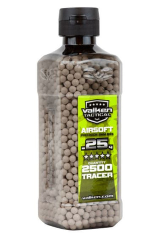 Valken Tactical 0.25g Tracer BBs 2500CT