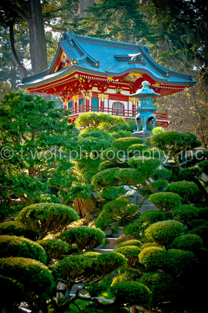 AI 001 - Japanese Pagoda San Francisco