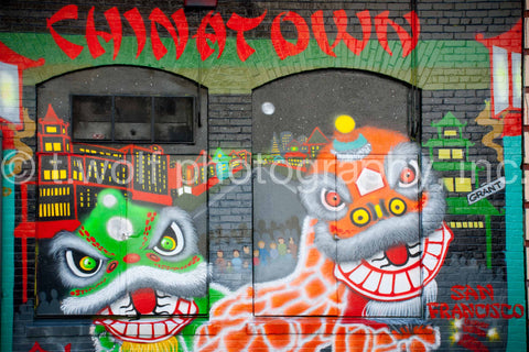 AI 006 - Chinatown Wall Art
