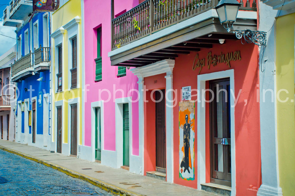 CB 038 - Old San Juan Color