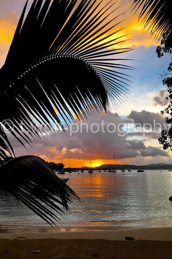 CB 112 - Cruz Bay Sunset
