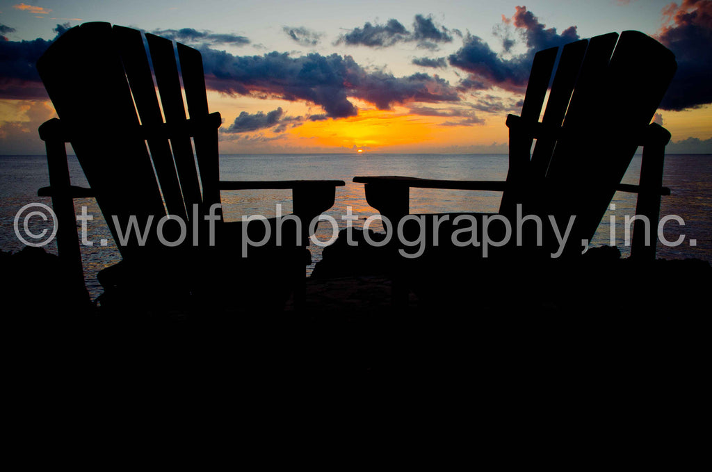 CB 129 - Twin Chair Sunset