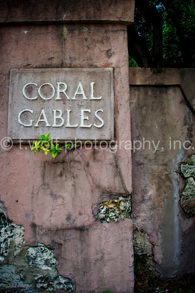FL 005 - Coral Gables Classic Sign