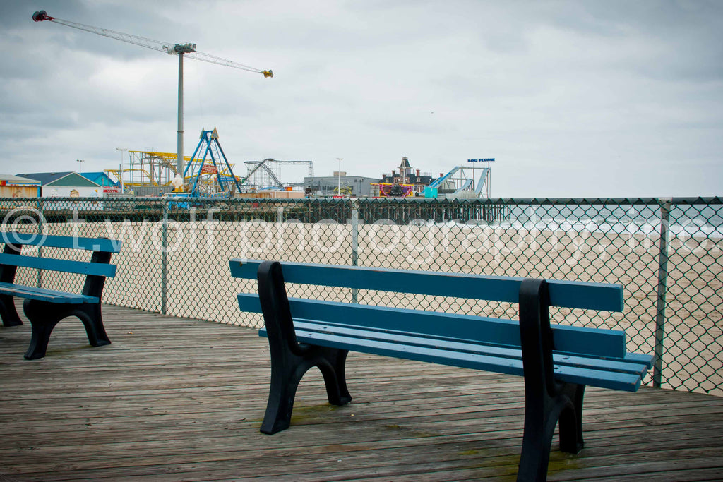 NE 011 - Seaside Winter Bench