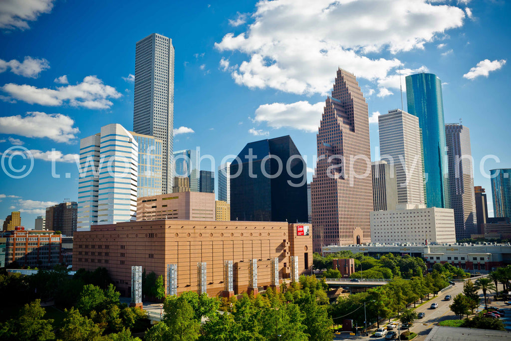 TX 007 - Houston Skyline
