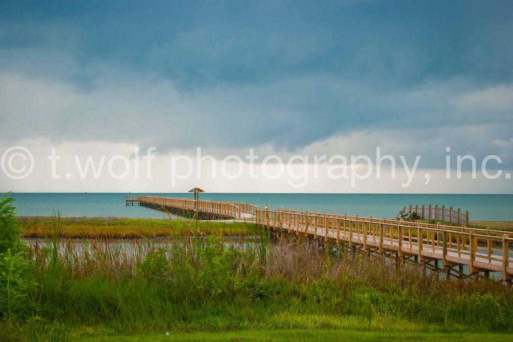 TX 018 - Storm Over Rockport Pier