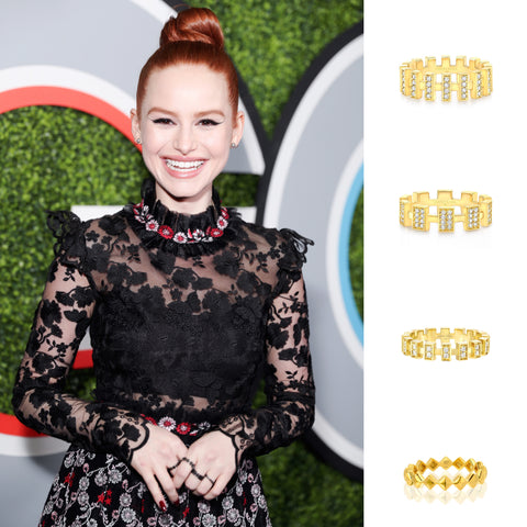 Madelaine Petsch GQ Men of the year Awards Party Vardui Kara Jewelry