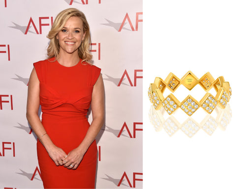 Reese Witherspoon AFI Awards Vardui Kara Jewelry
