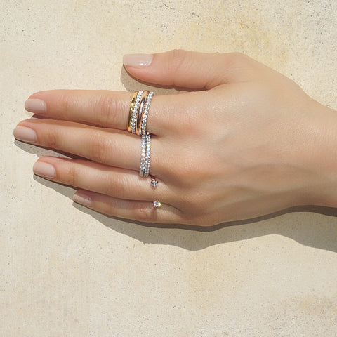 essential stacking gold rings vardui kara