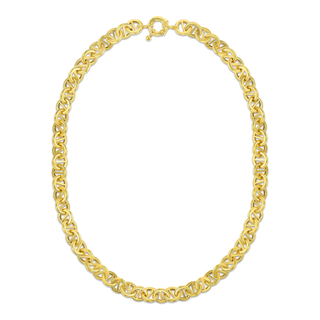 gold pill necklace