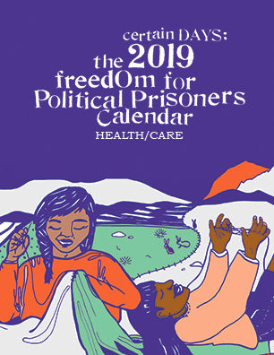 2019 Certain Days: Freedom for Political Prisoners Calendar - Prisoner Copy
