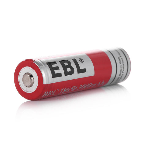 Rechargeable Battery EBL - 18650 Lithium-Ion Rechargeable Battery 3000mAh 3.7V, 1 Pack - Recommended for TENDLITE®