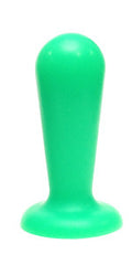 Neon Green Taper Anal Toy - SplitPeaches.com - 1