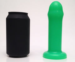 Small Neon Green Silicone Dildo - SplitPeaches.com - 2
