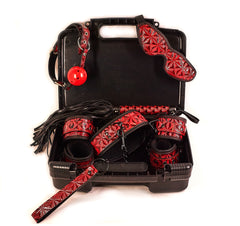 The Dungeon Store Vegan Bedroom Bondage Kit Red