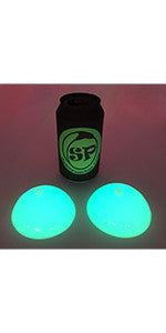 Glow In The Dark Silicone Stress Reliever Boobies