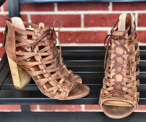 Lenora lace up sandal