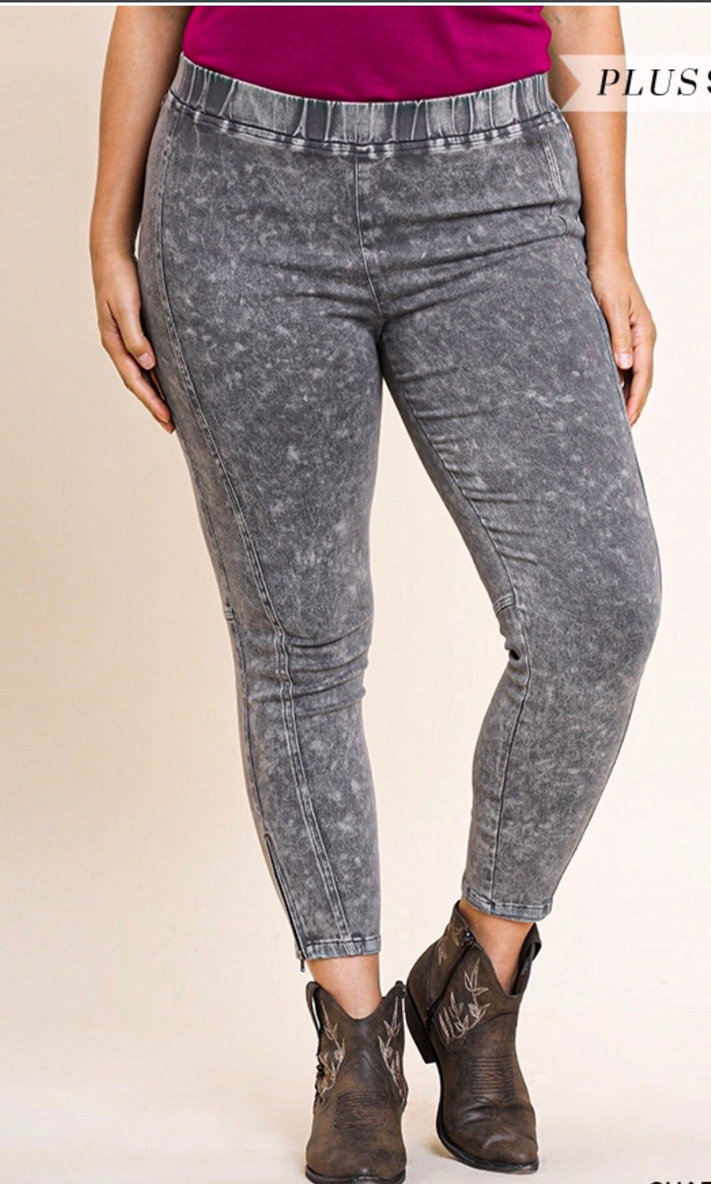 Smoke Grey Jeggings