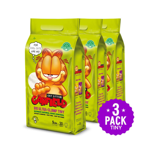 3 FREE Bags of Garfield Cat Li...