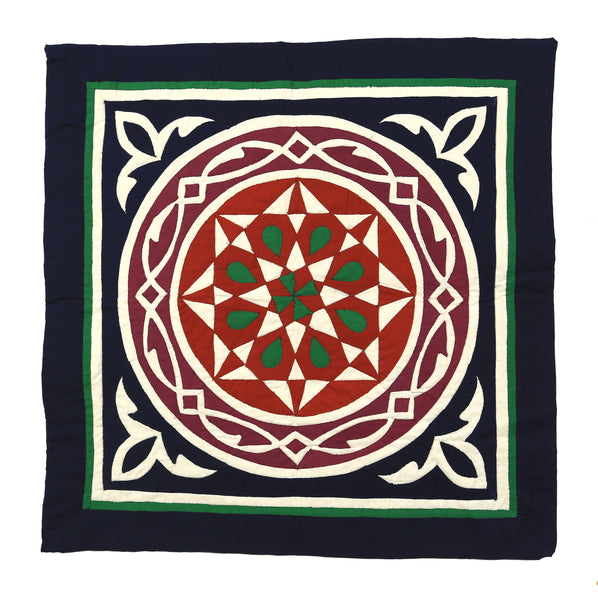 Geometric design with a surrounding Arab chain
