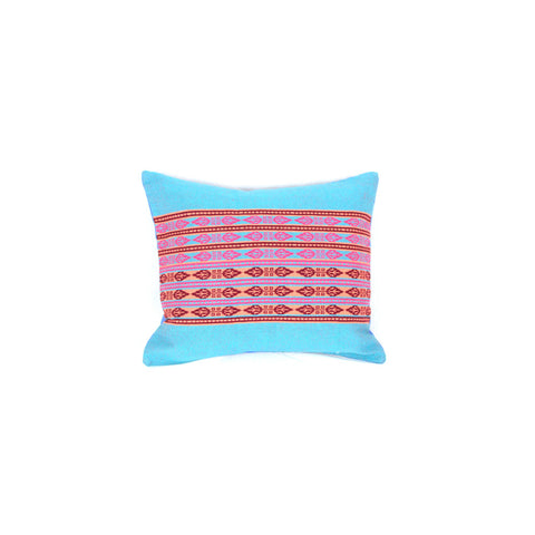 Blue Pink Pillow