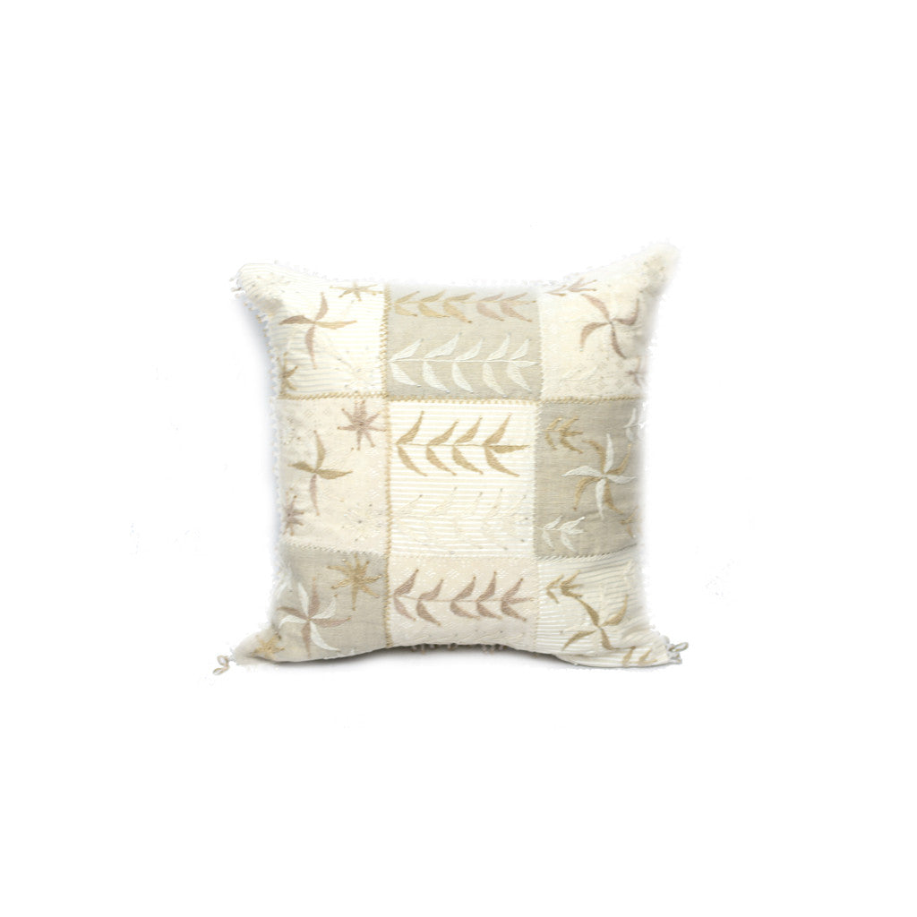 Sandy Beaded Pillow