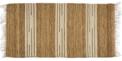 Beige with light Brown Stripes