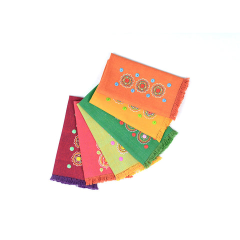 Colorful Coffee Table Napkins (we sell it per piece-colors will be based on availbility)-D)