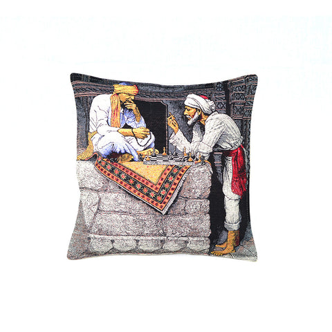 Old Egypt - Chess Time Pillow-D