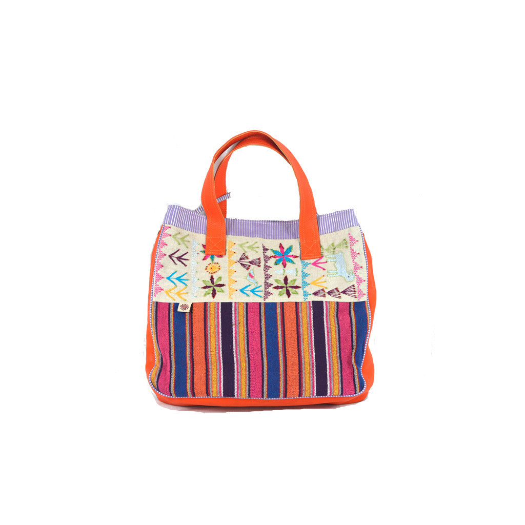 Embroidered Colorful Bag