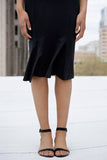 Ceto pencil skirt with princess line inserts