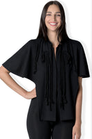 The Victoria vintage style cape in bamboo and organic cotton french terry