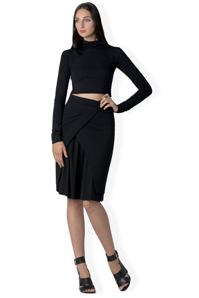 The Chloe pencil skirt in bamboo and organic cotton