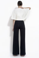 Katia palazzo style trouser in bamboo and organic cotton spandex jersey