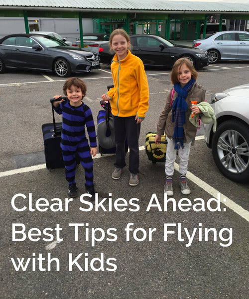 Best tips for flying with children