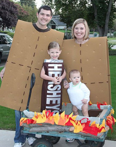 memorable family halloween costume smores