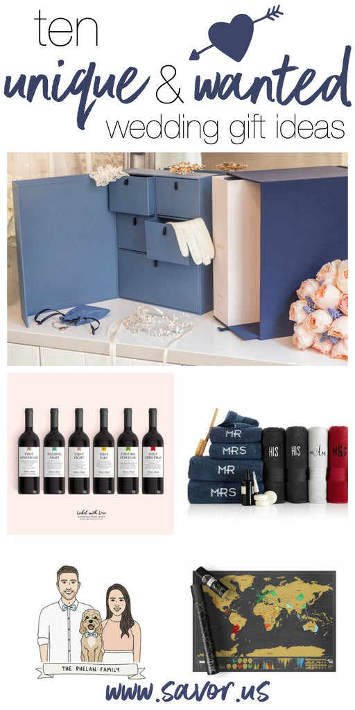 Wedding Gift Ideas.10 Unique And Wanted Wedding Gifts Savor
