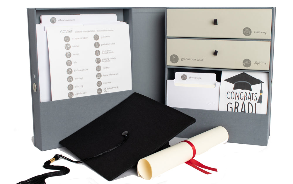 Load image into Gallery viewer, The Vault Graduate and Adulting Keepsake Box