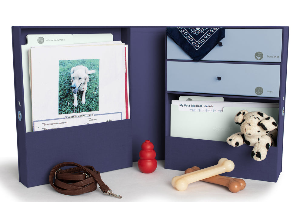 The Vault Pet Keepsake Box