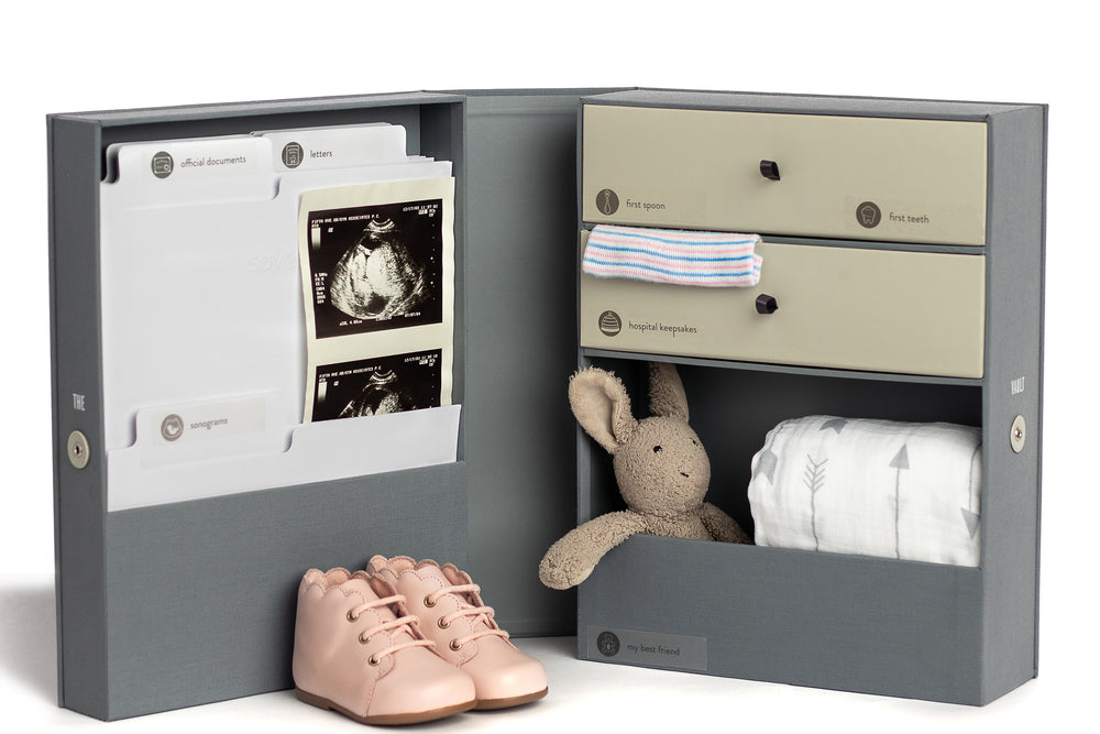 Load image into Gallery viewer, The Vault Baby Keepsake Box