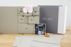 Personalized Deluxe Baby Edition Keepsake Box - Custom