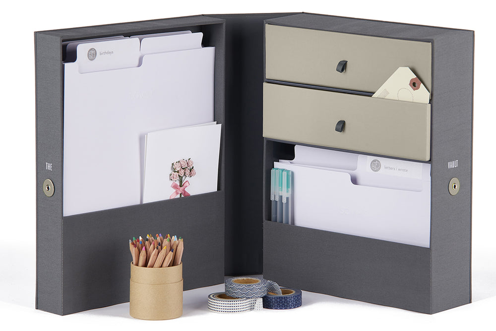 All-in-One Desk Organizer-The Vault