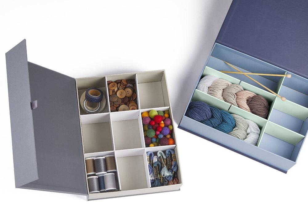 Fabric Organizer Box-The Safe Deposit