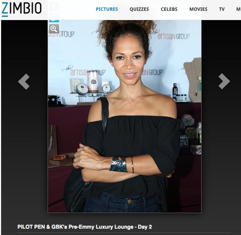 Sherri Saum in Rough It Cuff