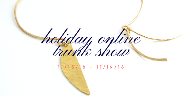 online holiday trunk show