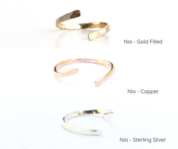 Minimalist Jewelry Capsule Kit - 6 Pieces of Jewelry