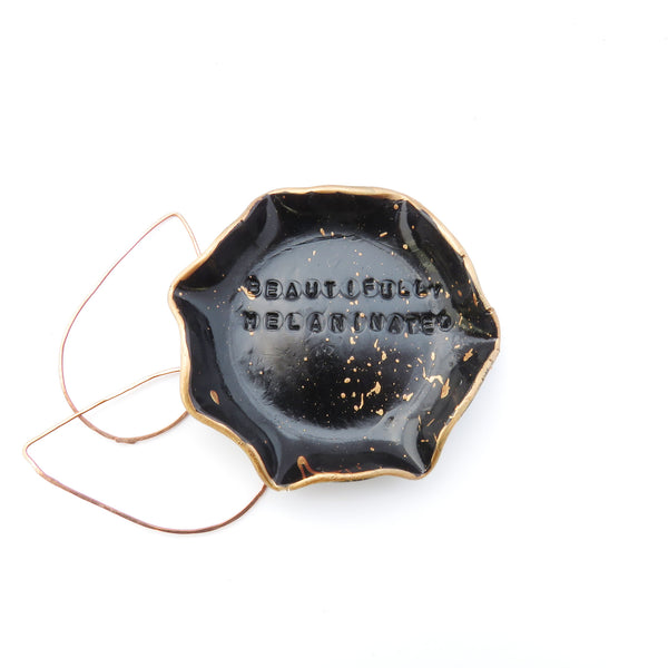 Black Girl Magic Jewelry Dish Copper and Black Collection - NEW - The Pink Locket - 4
