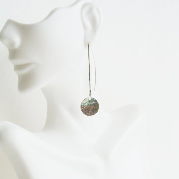 Bebe - Titanium Long Drop Earrings - The Pink Locket - 3